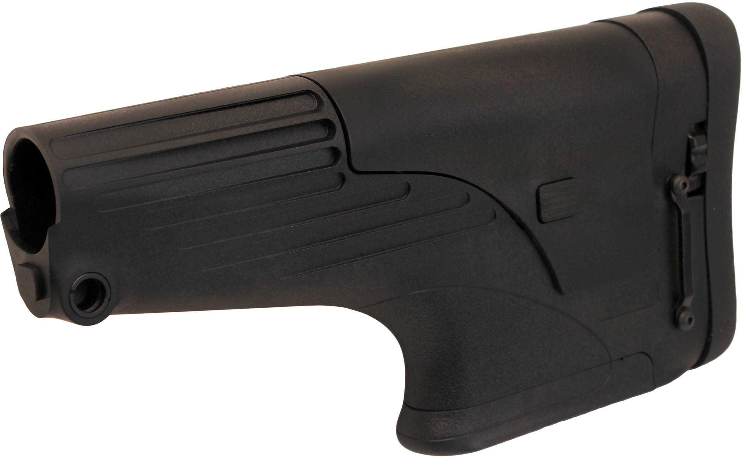TacStar Adjustable Match Stock, Fits AR Rifles, Black Finish 1081123