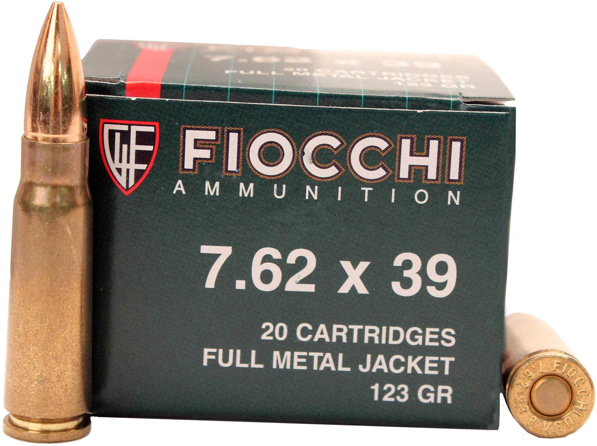 7.62 X 39mm 124 Grain FMJ (Per 20) Md: 7.62SOVA