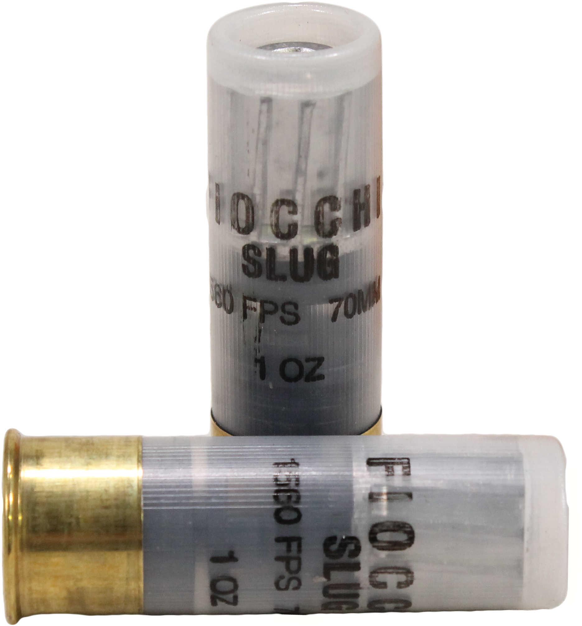 """Fiocchi Ammo Aero Slug 12 Gauge 2.75"""" Hi-Velocity 1 Oz (Per 10) Md: 12Slug"""