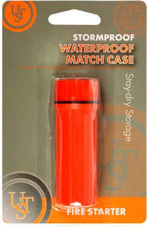 Waterproof Match Case, Orange Md: 20-310-009