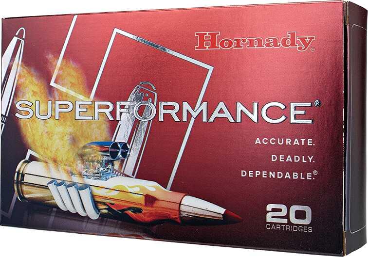 Hornady Superformance 7mmmag 162 Grain Sst 20 Box