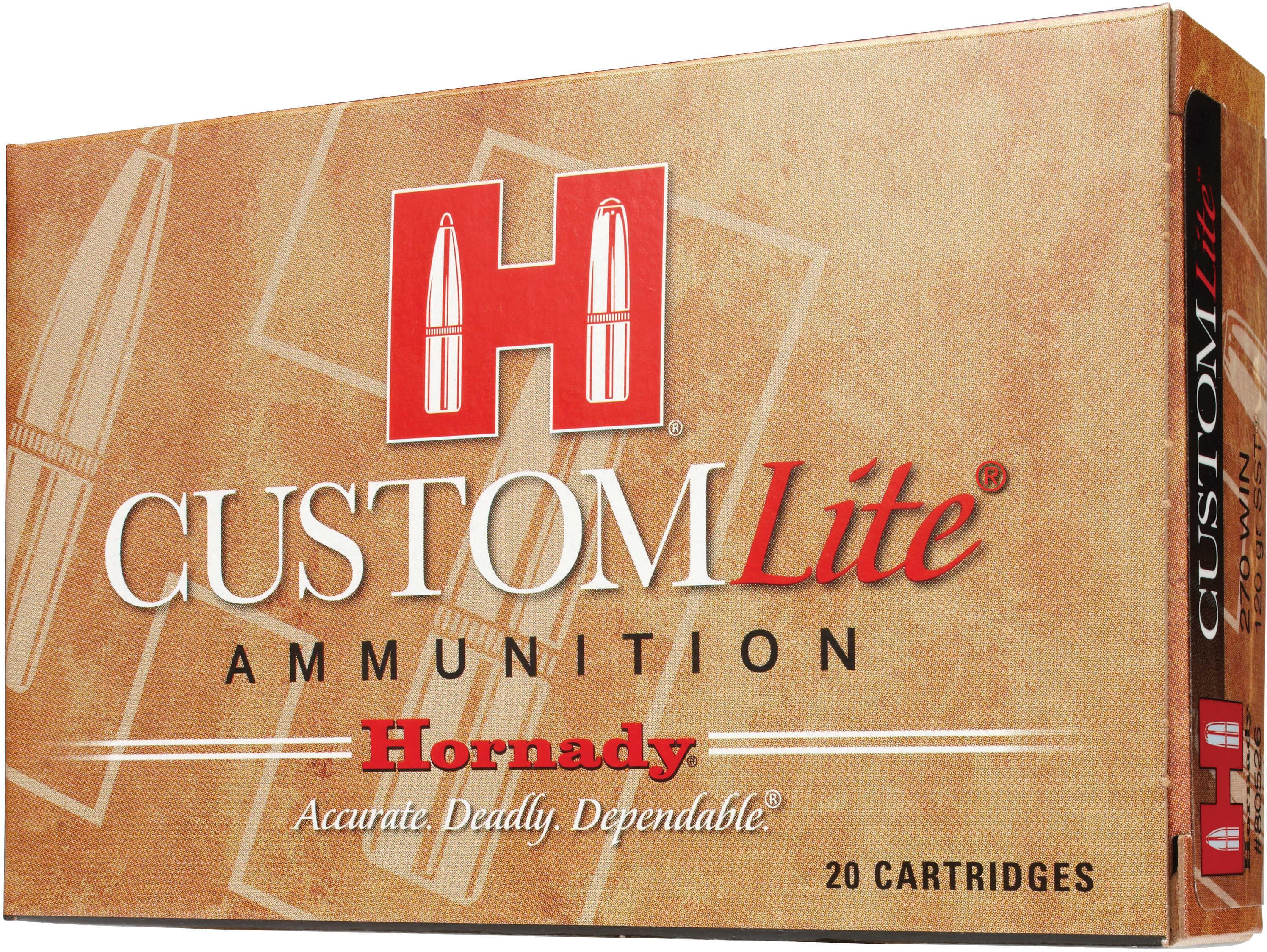 Hornady Custom Lt 30-06 125 Grain Sst 20 Box