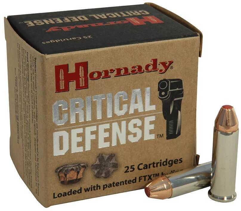 Hornady 38 Spc+P 110G Crit Defense 25B
