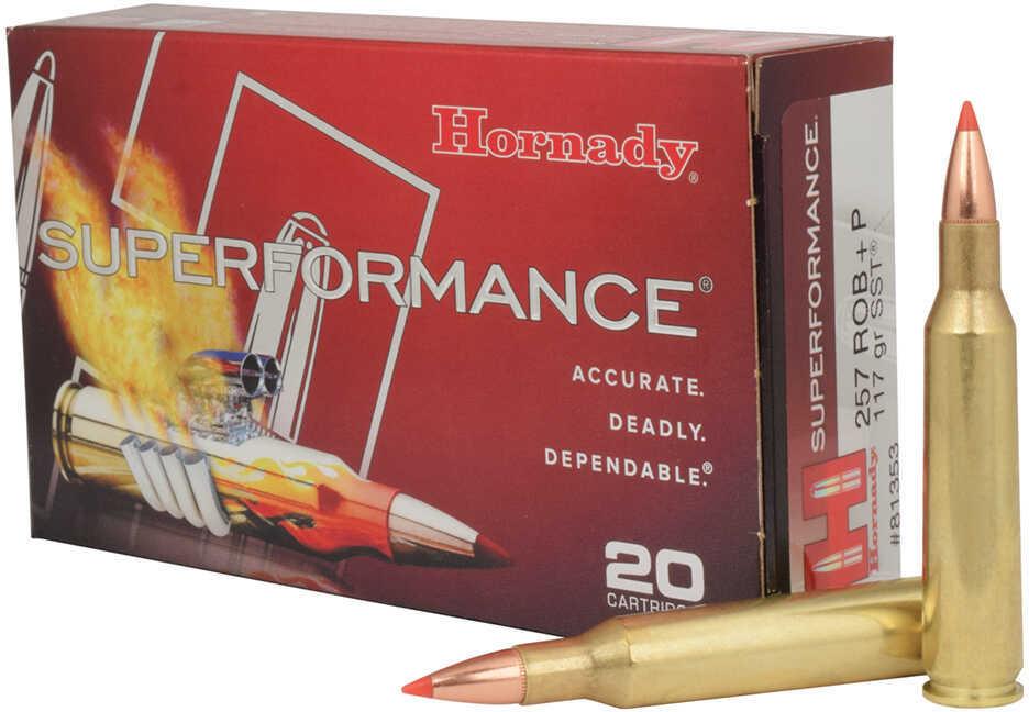 Hornady SUPFORMANCE 257 Roberts +P 117 Grain SST 20 Box