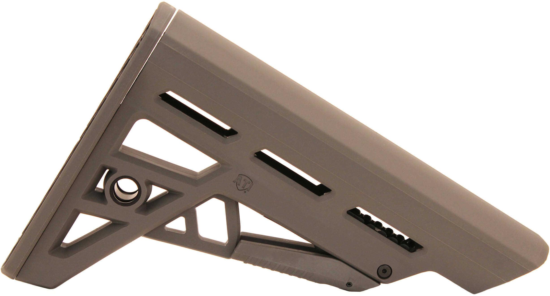 AR-15 TactLite Adjustable Mil-Spec Stock Destroyer Grey Md: B.2.40.2212