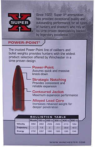 Winchester 270 130 Grain SP/PWR-PT 20/Bx