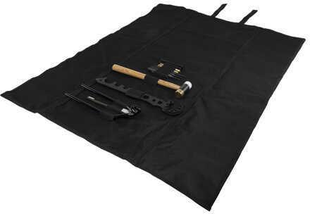 NcStarNcStar AR15/M4 Gunsmithing Tool Kit Black Roll-Up Cleaning Mat Md: TGSARKB