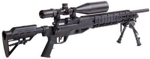 Benjamin BTAP22SX Tactical Air Rifle Bolt .22 Pellet Black