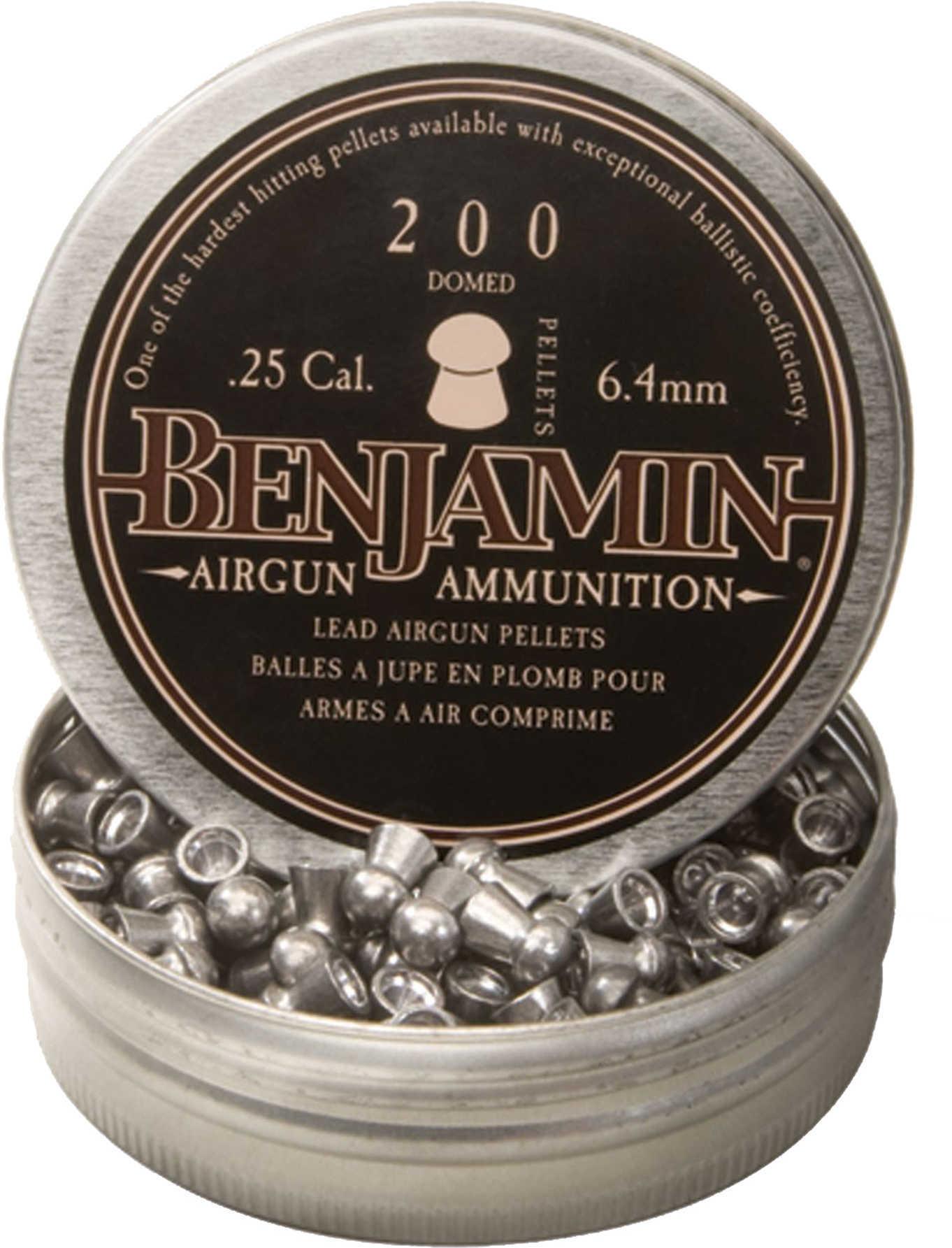 Benjamin BD225 Domed .25 Lead Pellet 200