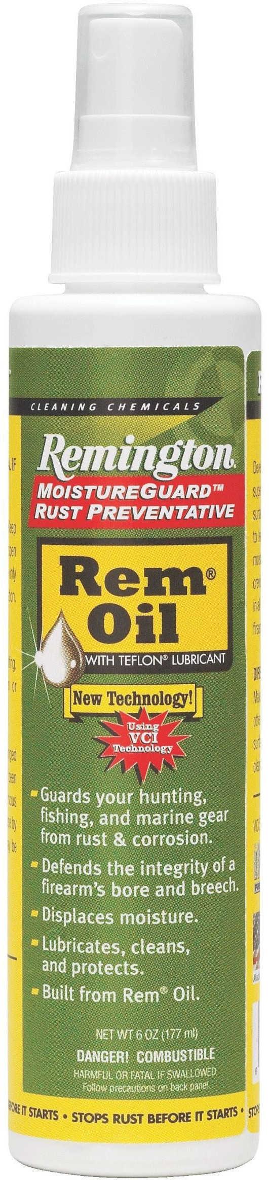 Remington Oil W/ Moisture Guard 6Oz Pump