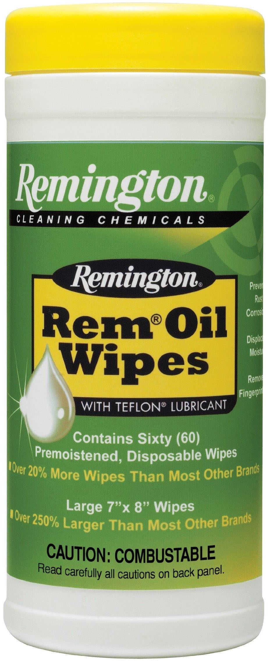 Remington Oil Pop-Up Wipes