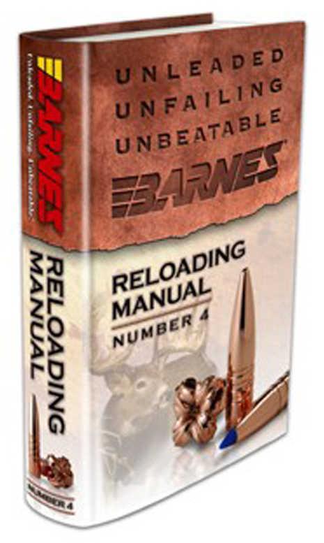 Barnes Reloading Manual Number 4