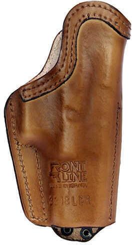 Front LineFrontline Inner Waistband Tuckable Leather Holster Glock 19/23/32, Brown, Left Hand Md: FL3318L-BR