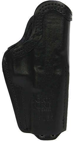 Front LineFrontline Inner Waistband Tuckable Leather Holster Glock 20/21, Black, Left Hand Md: FL3319L-BK