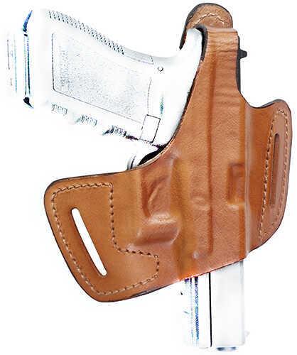 Front LineFrontline Fast Draw Belt Slide Leather Holster, CZ 75, Brown, Right Hand Md: FL90105-BR