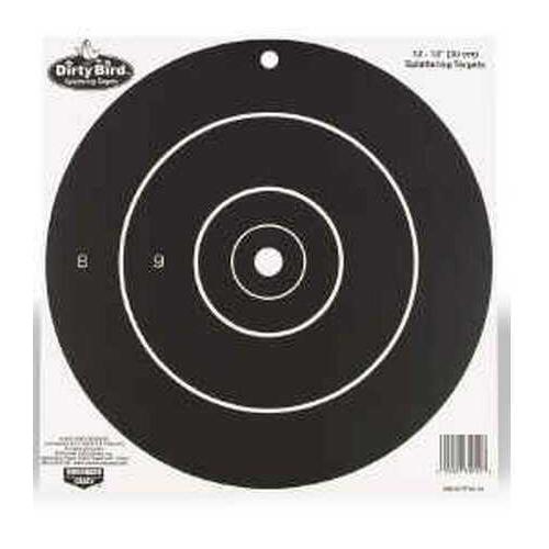 "Birchwood Casey Dirty Bird Paper Targets 12"", Round, 12 Pack Md: 35012"