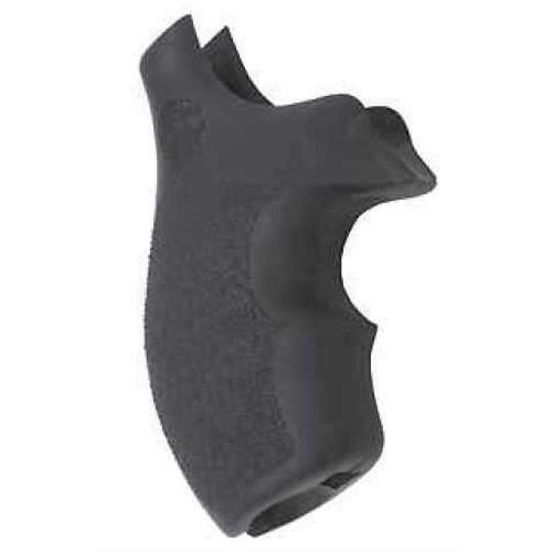 Hogue Rubber Grip For S&W J Frame Round Butt Bantam Grip Md: 61000