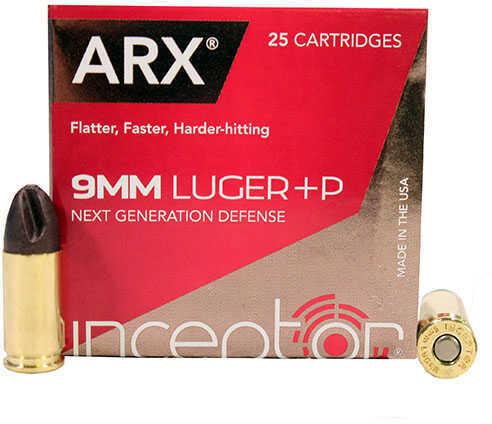 Polycase Ammunition 9mm +P, 65 Grains, ARX, Per 25 Md: 0009LPIARX065-001B00025P