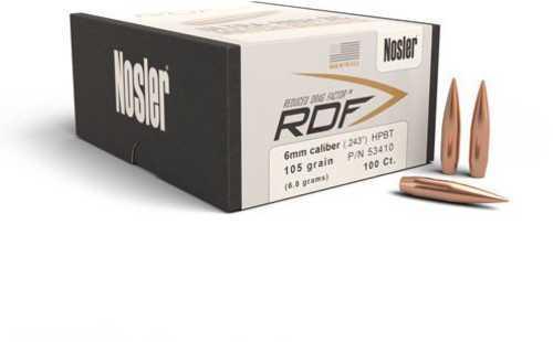 Nosler 53410 RDF Match .243 105 HPBT 100