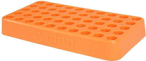 "Lyman Custom Fit Loading Block .388"" Hole Diameter, Orange Md: 7728090"