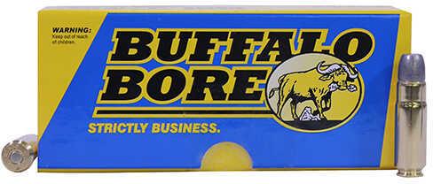 Buffalo Bore Ammunition 458 SOCOM 405 Grains, Hard Cast GC FN, Per 20 Md: 47E/20