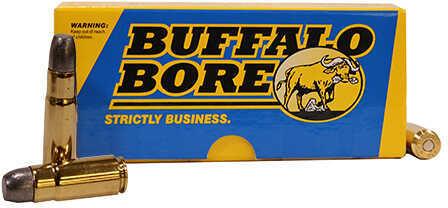 Buffalo Bore Ammunition 458 SOCOM 500 Grains, Flat Nose Gas Chwxk, Per 20 Md: 47G/20