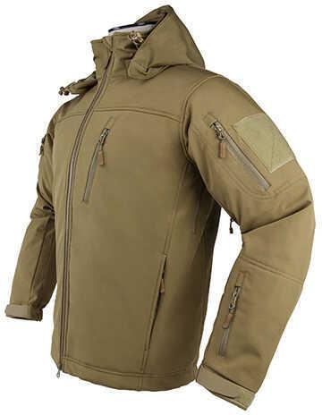 NcStar Trekker Jacket Small, Tan, Polyester Outside, Micro Fleece Inside Md: CAJ2969TS