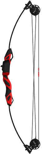 Barnett Youth Archery Vertigo, Black with Red Accents Md: 1265
