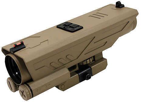 NcStar Delta 4x30mm Scope, P4 Sniper Reticle, Green Lens Md: VDELTP430G