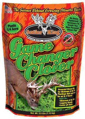 Antler King Food Plot Seed Game Changer Clover Md: gcc2.5