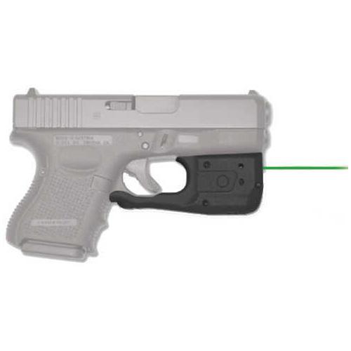 Crimson Trace Corporation Laserguard PRO Laser and Light Fits Glock 26/27/33 Black Finish 150 Lumen LED Green Laser User