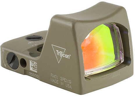 Trijicon RMR Type 2 LED Sight - 3.25 MOA Red Dot  Reticle, Cerakote Flat Dark Earth Md: RM01-C-700624