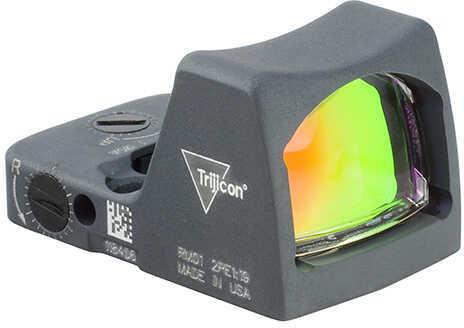 Trijicon RMR Type 2 LED Sight - 6.5 MOA Red Dot Reticle, Cerakote Sniper Gray Md: RM02-C-700643