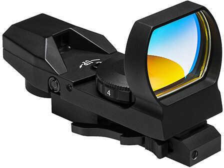 NcStar KeyMod Quick Release 4 Reticle Reflex Optic, Black  Md: VD4BKM