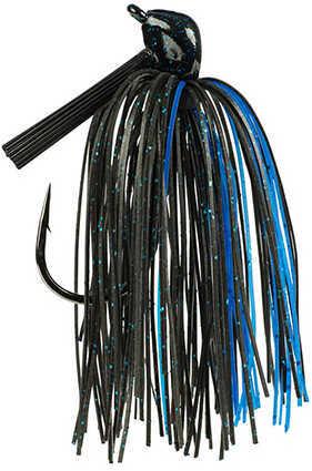 Strike King Lures Tour Grade Skipping Jig 1/2 Ounce, Black/Blue, Per 1 Md: TGSKJ12-2