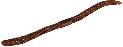 "Jackall Lures Flick Shake Soft Worm Lure 6.80"" Body Length, Pumpkin Pepper, Per 7 Md: JFLSK68-PP"