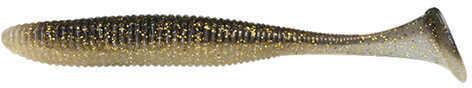 """Jackall Lures Rhythm Wave Soft Swim Bait Lure 5.80"""" Body Length, Golden Shad, Per 5 Md: JRHYTW58-GLS"""