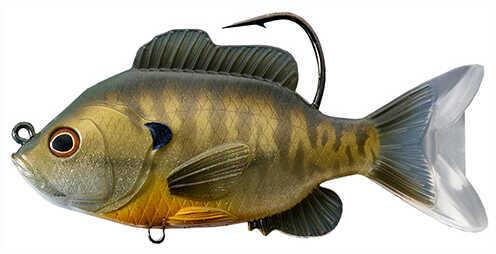 "LiveTarget Lures Sunfish Swimbait Freshwater, 5"" Length, 1 1/3 oz, 1'-8' Depth, Bronze Bluegill, Per 1 Md: SFS130MS562"