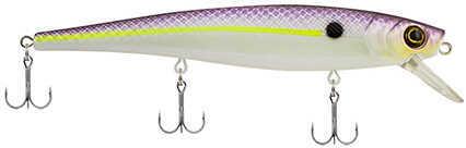 "Berkley Skinny Cutter 110 Shallow Hard Bait Lure 4 1/4"" Length, 7/16 oz, 3'-5' Depth, 2 Hooks, Purple Glimmer, Per 1 Md:"