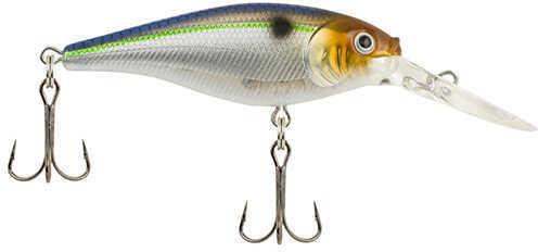 "Berkley Flicker Shad Hard Bait Lure 2 3/4"" Length, 5/16 oz Weight, 11'-13' Depth, 2 Hooks, Blue Smelt, Per 1 Md: 1432754"