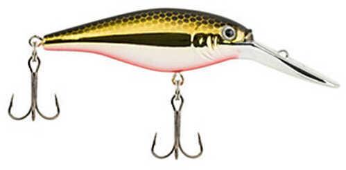 "Berkley Flicker Shad Hard Bait Lure 2 3/4"" Length, 5/16 oz Weight, 11'-13' Depth, 2 Hooks, Black Brass, Per 1 Md: 143275"