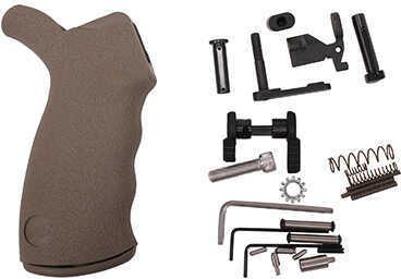 Ergo Enhanced Lower Part Kit with Original Ergo Grip without Fire Control, Dark Earth Md: 4979-DE
