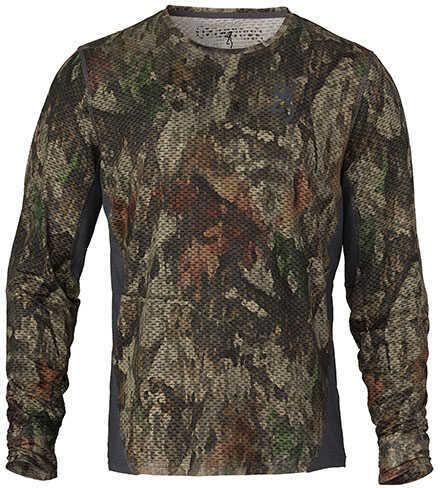 Browning Hell's Canyon Speed Plexus-FM Long Sleeve Mesh Shirt ATACS Tree/Dirt Extreme, Medium
