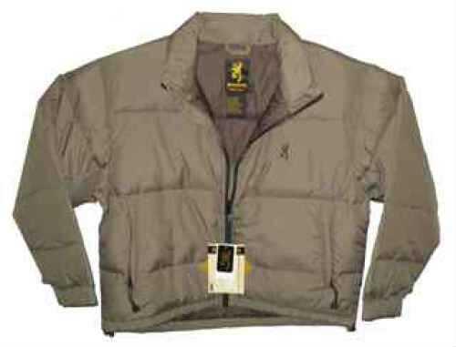 Browning Down Jacket Tan, XLarge Md: 3047533204