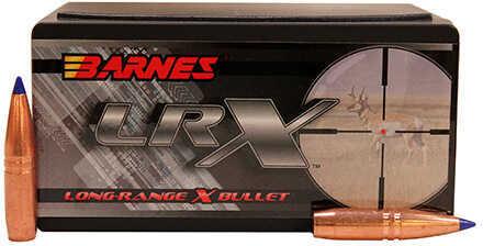 Barnes Bullets .338 Caliber Long-Range X Reloading Bullet, 250 Grains, Polymer Tip Boat Tail, Per 50