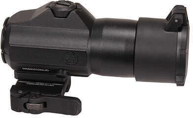 Sig Sauer Juliet3 Magnifier, 3x24mm, Powercam QR Mount with Spacers, Black