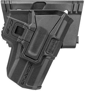 Mako Group Model M24 Belt Holster with Level 2 Retention Jericho 941F, Ambidextrous, Black Md: M24 Belt 941 R-B