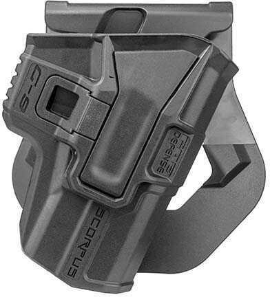 Mako Group Model M24 Paddle Holster Smith & Wesson M&P 9/.40, Ambidextrous, Black Md: M24 Paddle M&P-B