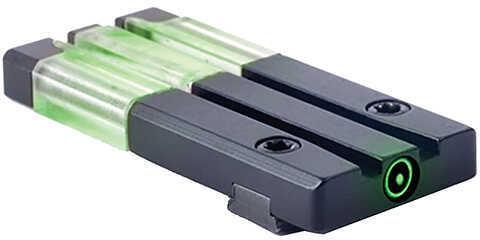 Mako Group Fiber-Tritium Bullseye Sight Kahr Rear Sight, Green Md: ML63147G