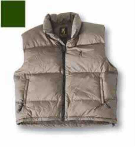 Browning Down Vest Olive, XLarge Md: 3057544204